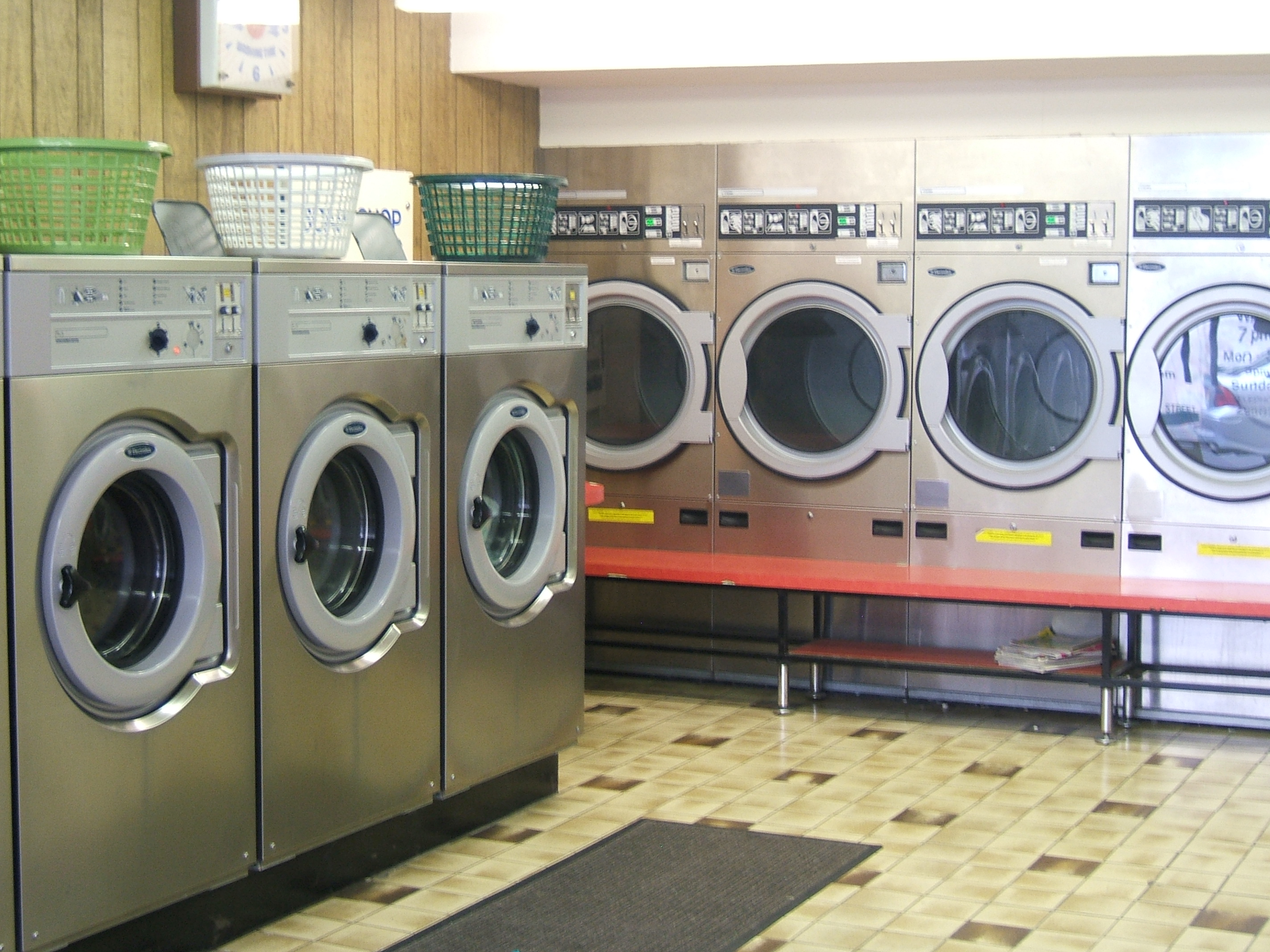 Laundry And Dry Cleaning Launderette
